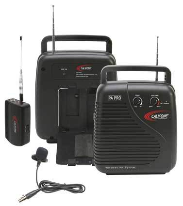 Califone PA Pro Portable Wireless PA System