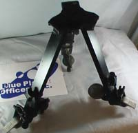 Tripod dolly partly folded up