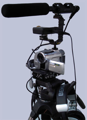 3 CCD Camcorder for rent with or without crew.